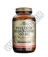 SOLGAR Psyllium Husks Fibre 500 mg. / 200 Caps.