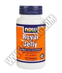 NOW Royal Jelly 300mg. / 100 Softgels