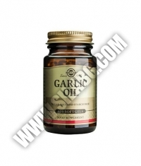 SOLGAR Garlic Oil, Reduced Odour / 100 Soft.