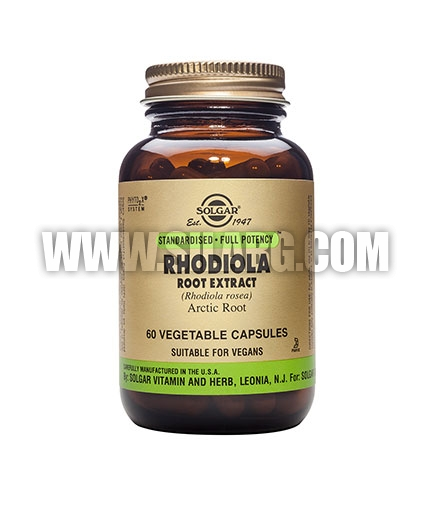 SOLGAR Rhodiola Root Extract, S.F.P. 60 Caps.