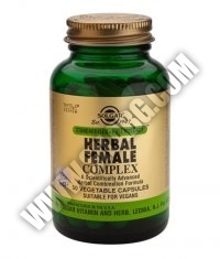 SOLGAR Herbal Female Complex S.F.P. 50 Caps.