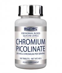 SCITEC Chromium Picolinate 100 Tabs.