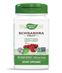 NATURES WAY Schisandra Fruit 580 mg / 100 Caps.