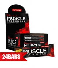 NUTREND Muscle Protein Bar 24 x 55g.