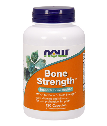 NOW Bone Strength 120 Caps.