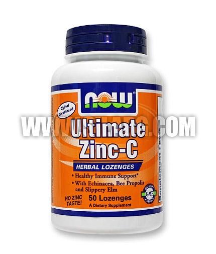 NOW Ultimate Zinc-C 50 Loz.
