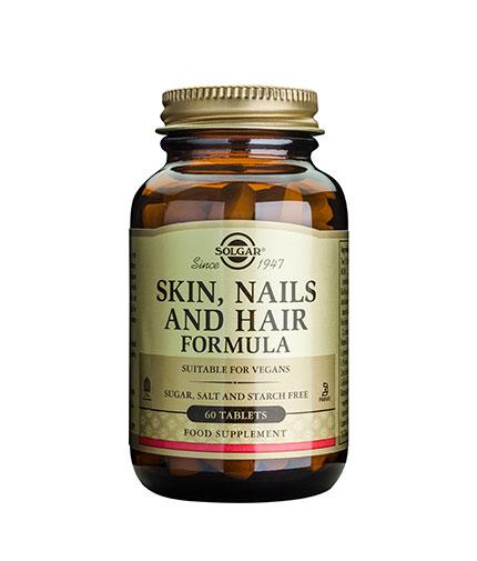 SOLGAR Skin, Nails and Hair Formula 60 Tabs.