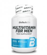 BIOTECH USA Multivitamin for Men 60 Tabs.