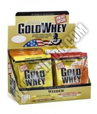 WEIDER Gold Whey Protein 30 Packs