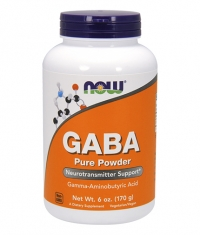 NOW GABA Powder 340 Serv.