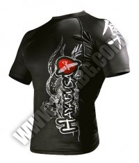 HAYABUSA FIGHTWEAR Mizuchi Rashguard S/S /Black/