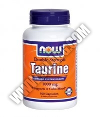 NOW Taurine 1000mg. / 100 Caps.