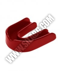 EVERLAST Single Guard Mouth Guard /Red/