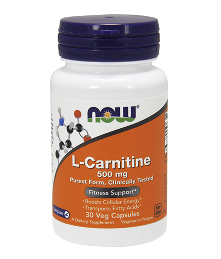 NOW L-Carnitine 500mg. / 30 VCaps.