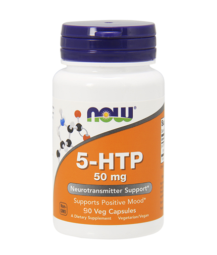 NOW 5-HTP 50mg. / 90 Vcaps.