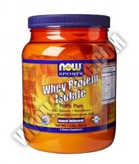 NOW Whey Protein Isolate /Unflavoured/