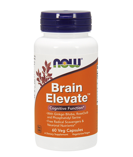 NOW Brain Elevate 60 Caps.