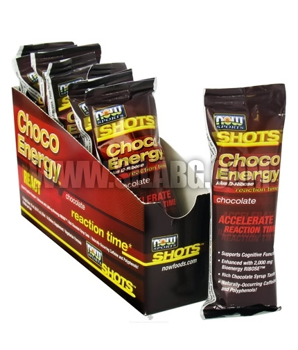 NOW Choco Energy + D-Ribose / 15 ml. Single Dose