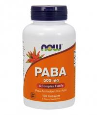 NOW PABA 500mg. / 100 Caps.
