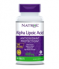 NATROL Alpha Lipoic Acid /Time Release/ 600 mg. / 45 Tabs.