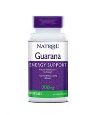 NATROL Guarana 200 mg. / 90 Caps.