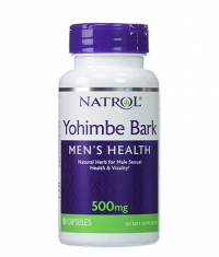 NATROL Yohimbe Bark 500 mg. / 90 Caps.