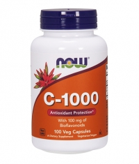 NOW Vitamin C-1000 / with 100mg Bioflavonoids / 100 Vcaps.