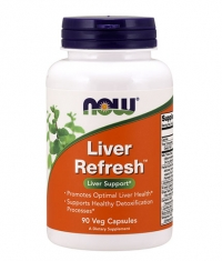 NOW Liver Refresh / 90 Vcaps.