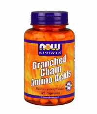NOW Branched Chain Amino Acid /***/ 120 Caps.