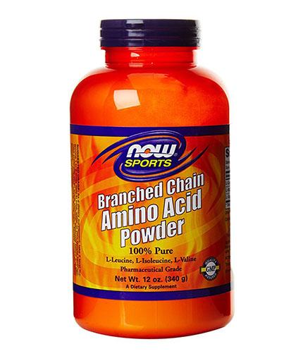 NOW Branched Chain Amino Acid /***/ Powder 68 Serv.
