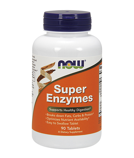 NOW Super Enzymes 90 Tabs.