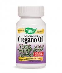 NATURES WAY Oregano Oil Standardized 60 Caps.