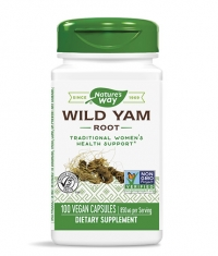 NATURES WAY Wild Yam Root 100 Caps.