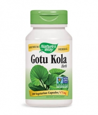 NATURES WAY Gotu Kola Herb 100 Caps.