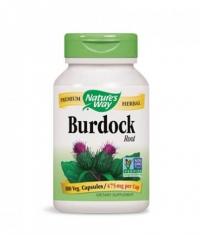 NATURES WAY Burdock Root 100 Caps.