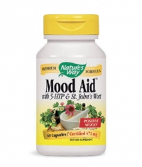 NATURES WAY Mood Aid With 5-HTP & St. John's Wort 60 Caps.