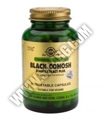 SOLGAR Black Cohosh Root Extract Plus, S.F.P. 60 Caps.