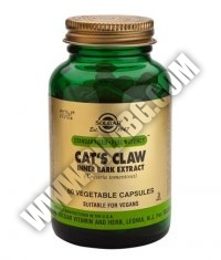 SOLGAR Cat's Claw Inner Bark Extract, S.F.P. 60 Caps.