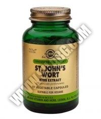 SOLGAR St. John'S Wort Herb Extract, S.F.P. 175 mg. / 60 Caps.