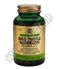 SOLGAR Milk Thistle/Dandelion Complex S.F.P. 50 Caps.