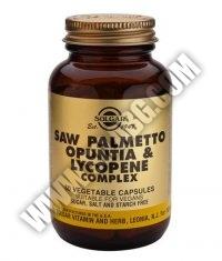 SOLGAR Saw Palmetto Opuntia Lycopene Сomplex 50 Caps.