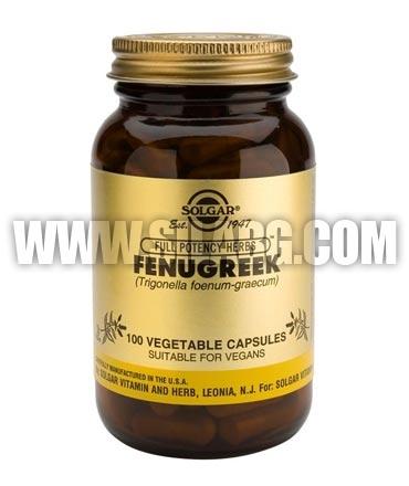 SOLGAR Fenugreek 520 mg. / 100 Caps.