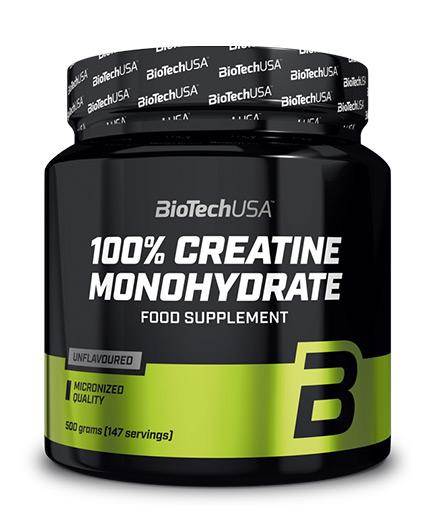 BIOTECH USA 100% Creatine Monohydrate 0.500