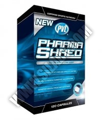 PVL Pharmashred 120 Caps.