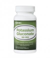 GNC Potassium Gluconate 99 mg. / 100 Tabs.