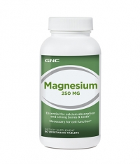 GNC Magnesium 250 mg. / 90 Tabs.