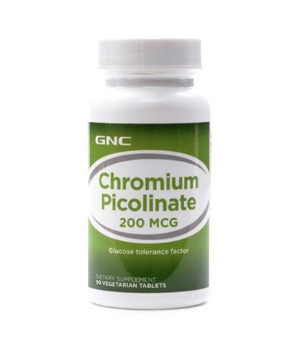 GNC Chromium Picolinate 200 mcg. / 90 Caps.