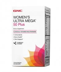 GNC Women's Ultra Mega 50 + / 60 Caps.