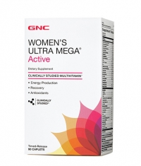 GNC Women's Ultra Mega Active 90 Caps.