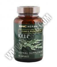 GNC Herbal Plus Kelp 30 mg. / 90 Caps.